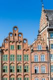 Colorful houses in Gdansk, Poland Stock Images