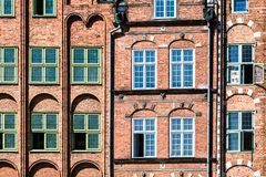 Colorful houses in Gdansk, Poland Stock Photo