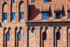 Colorful houses in Gdansk, Poland Stock Image