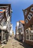 Colorful houses in historic Schnoorviertel in Bremen, Germany Stock Image