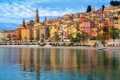 Free Colorful Houses In The Old Town Menton, French Riviera, France Stock Photo - 137620680
