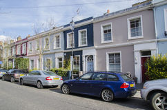 Notting hill houses Stock Images