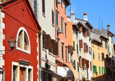 Free Colorful Houses Of Rovinj, Croatia Situated On The North Adriatic. Royalty Free Stock Image - 166343166