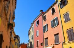 Free Colorful Houses Of Rovinj, Croatia Situated On The North Adriatic. Royalty Free Stock Images - 166343209