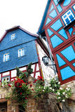 Colorful houses in the old town of Ortenberg, Germany Royalty Free Stock Images