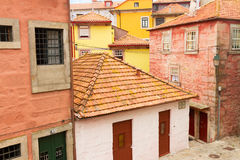 Colorful houses in old town, Porto Stock Photography