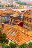 Colorful houses in old town, Porto Royalty Free Stock Images