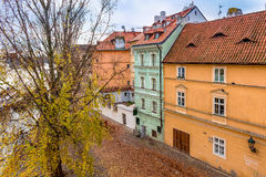 Colorful houses in Prague. Stock Photos