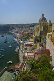 Colorful houses of procida italy Royalty Free Stock Photos