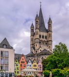 Old Town Cologne Royalty Free Stock Photos