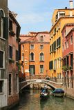 Colorful houses in Venice Italy Royalty Free Stock Image