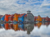 Colorful houses Royalty Free Stock Photo