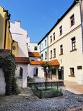 Colorful houses in Zamosc Stock Photos