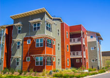 Colorful Housing Building Royalty Free Stock Photos