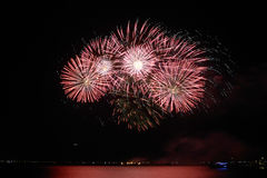 Fireworks-display-series_46 Royalty Free Stock Images