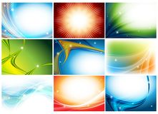 Colorful huge vector set Royalty Free Stock Photos