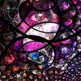 Colorful human eye abstract Stock Image