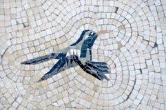 Colorful hummingbird mosaic Stock Images