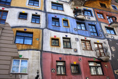 Colorful Hundertwasserhaus Royalty Free Stock Image