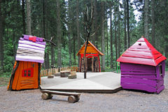 Colorful huts Royalty Free Stock Photo