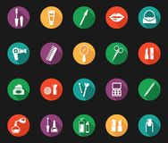 Colorful Hygiene and Grooming Graphic Symbols Stock Photos