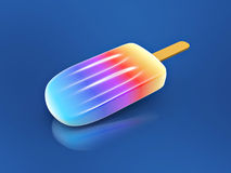 Colorful ice cream stick Royalty Free Stock Images