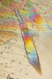 Colorful Ice Crystals Royalty Free Stock Images