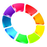 Colorful icon Royalty Free Stock Images