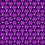 Colorful icosahedrons pattern, abstract geometrical background. 3d illustration Royalty Free Stock Images