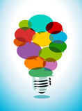 Colorful Idea Stock Images