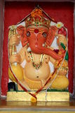 Colorful Idol of Painted Ganesha Royalty Free Stock Images