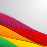 Colorful illustrated abstraction. Royalty Free Stock Image