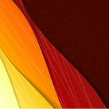 Colorful illustrated abstraction. Royalty Free Stock Photography