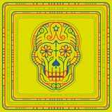 Day of the Dead illustration Stock Photography