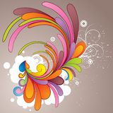 Colorful__illustration Stock Photos