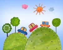 Colorful illustration Stock Photos