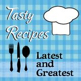 Tasty recipes concept stock images
