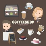 Cute Rainbow Objects Collection stock illustration