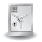 Metal safe Royalty Free Stock Images
