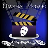 Drama movie concept Stock Photos