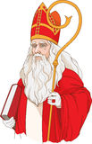Colorful image of santa claus Stock Image
