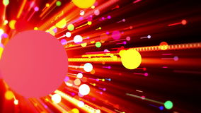 Colorful impact vector illustration