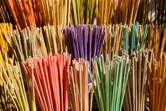 Colorful incense Royalty Free Stock Image