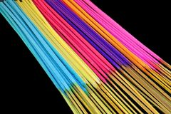 Colorful Incense Royalty Free Stock Photography
