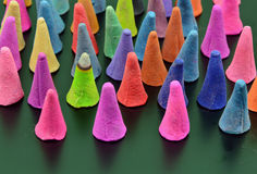 Colorful incense Stock Image