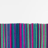 Colorful incense stick background. Stock Images