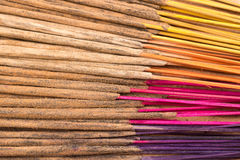 Colorful incense stick Stock Image
