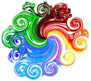 Colorful ,Vector royalty free stock image