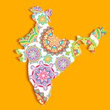 Colorful India Royalty Free Stock Images
