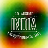 Colorful indian background. Coloful indian independence day background Stock Illustration